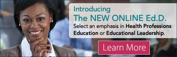 Introducing The NEW ONLINE Ed.D.