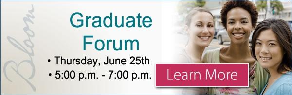 Graduate Forum
