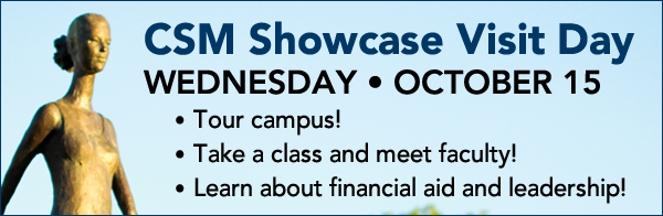 CSM showcase visit day