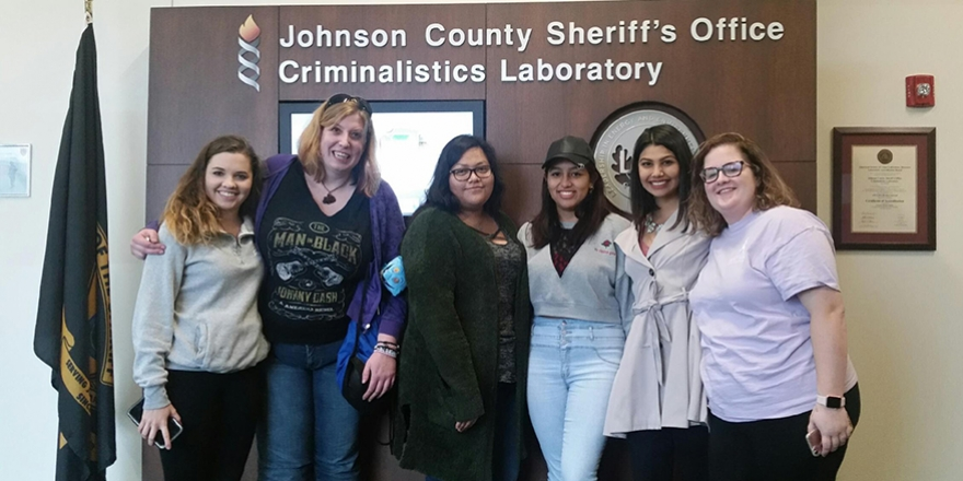 CSM Forensics Class visits Kansas City crime lab | College ...