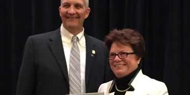 CSM President Dr. Maryanne Stevens receives leadership award