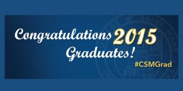 Congratulations 2015 graduates!