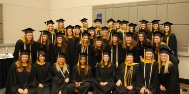 May 2015 College of Saint Mary graduates